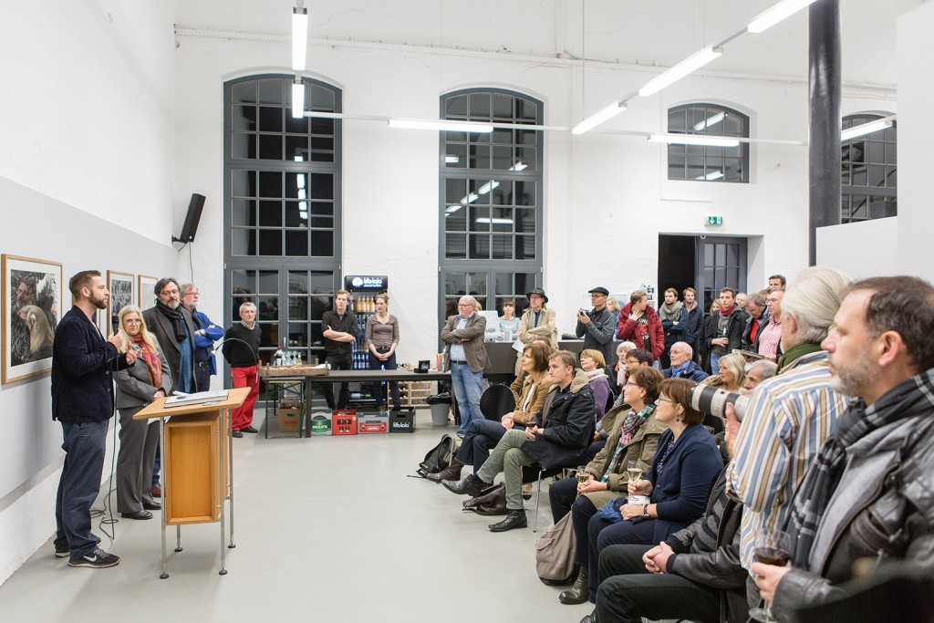 2015-11-18 Heidi und Hans Koch Vernissage Albert Rein (3)